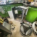 Извлечение постороннего предмета в стиральной машине LG